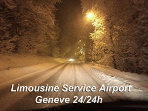 Limousine service airport Geneve